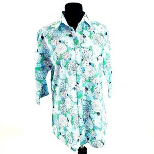 Lily Pulitzer Floral Print Cover Up / Tunic